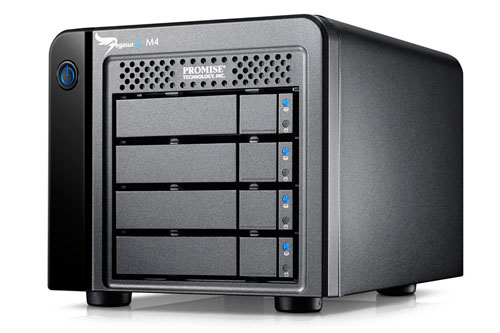 "PROMISE Pegasus2 M4 (2.5"" Drives) with Thunderbolt™ 2 Technology"